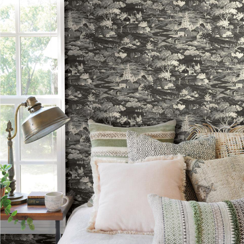 Homestead Wallpaper From Joanna Gaines 39 Magnolia Home By York