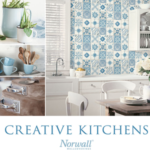 Norwall Creative Kitchens Wallpaper Book by Patton Wallcoverings