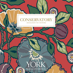 Conservatory Wallpaper Book by York Wallcoverings