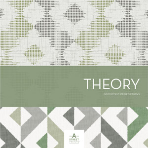 A Street Prints Theory Wallpaper Book by Brewster Wallcovering