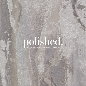 Polished Wallpaper Book by Brewster Wallcovering