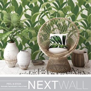 Nextwall Peel and stick Wallpaper Book by Seabrook Wallcoverings