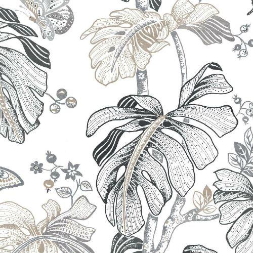 Boho Palm Peel And Stick Wallpaper By York Lelands Wallpaper