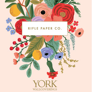 Rifle Paper Company Wallpaper Book by York Wallcoverings
