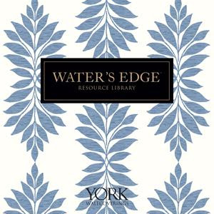 Waters Edge Resource Library Wallpaper Book by York Wallcoverings